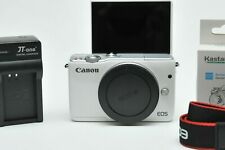 Canon EOS M10 Mirrorless Camera 18.0 Megapixel CMOS (APS-C) Full HD Alpine White