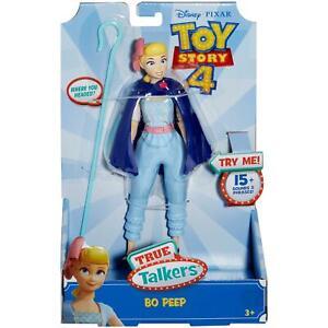 NEW Toy Story True Talkers - Bo Peep - Disney Pixar - Talking! 15 Phrases!