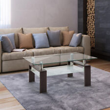 Modern Rectangle Glass Coffee Table For Living Room Center Tables Furniture
