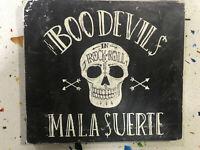 THE BOO DEVILS CD MALA SUERTE DEVIL'S CREW 2014