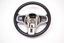 Mitsubishi Evo X Steering Wheel W/ Knobs Switches GSR Evolution 10 Oem 2008-2014