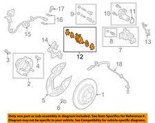FORD OEM 2016 Fusion Brake-Rear Pads DG9Z2200N
