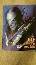 MICK THOMPSON SLIPKNOT Signed Autographed 8x10 Photo #A