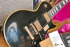Gibson Les Paul Custom Black Beauty REISSUE vos EBONY-mint condition!