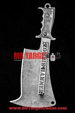 ZOMBIE HAMMER - STREET CLEAVER - zombie knife blade for the undead