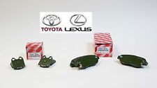 GENUINE LEXUS GS300 GS430 IS300 SC430 FACTORY NEW FRONT & REAR OEM BRAKE PAD KIT