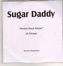 (DB723) Sugar Daddy, Sweet Soca Music - DJ CD