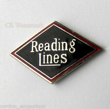 Reading Lines Railway Pennsylvania Railroad Pin Badge 3/4 inch