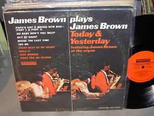 JAMES BROWN plays / today & yesterday - smash - mono -