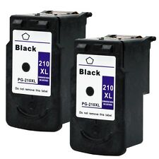 2PK Canon PG-210XL Black Ink Cartridges For PIXMA IP2700 IP2702 MP230 MP240