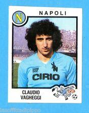 PANINI CALCIATORI 1982/83 -Figurina n.190- VAGHEGGI - NAPOLI -Rec