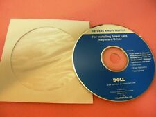 Dell smartcard keyboard windows 7 XP 2000 Vista Driver Disk CD SK-3205 KW240