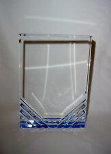 Blue Rectangle Reflection Acrylic Award Plate Plaque
