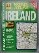 AA Road Atlas Ireland - Paperback 90 pages - 2006  2nd edition - New Old Stock