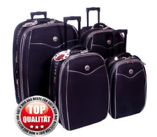Reisekoffer, Koffer, Trolly, Set ,  Brilliant,  mit Dehnfalte, 4 tlg.dunkel Blau