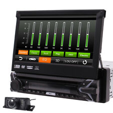 "7"" Capacitivo Touch Screen 1Din Autoradio DVD Bluetooth GPS Navi Stereo +Camera"