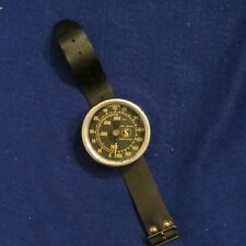 Scubapro Diver Wrist Watch Depth Gauge 500 Feet by SOS Vintage Made in Italy