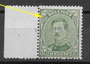 Belgium - 1915/9 - COB 137Aa** - SCOTT 111 - Dark Green - MNH -