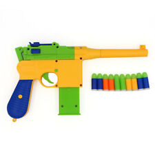 Toy Pistol Gun C96 Mauser Soft Bullet Dart for Kids Gift Outdoor Shooting Game