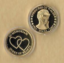 PRINCESS DIANA 1997 QUEEN OF HEARTS 1961-1997 GOLD COIN