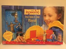 Disney Pocahontas Once Upon A Time Playset - Mattel -  New in Box