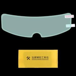 Clear Anti-Fog Patch Film Universal Motorcycle Helmet Fog Resistant Screen Lens