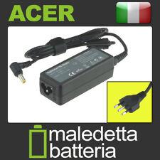 Alimentatore 19V 1,58A 30W per Acer Aspire One ZE6