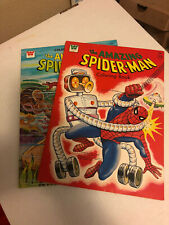 Spiderman Coloring Book Lot Of 2