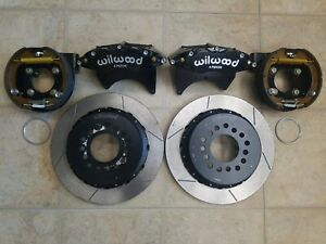 "WILWOOD DISC BRAKE KIT, REAR PARKING, GM/CHEVY, 2.75"", 13"" ROTORS, BLACK"