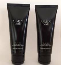 TWO Armani Code shower gels