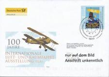 Echte Briefmarken mit Raumfahrt-Motiven aus der Bundesrepublik