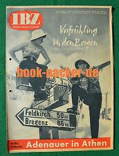 BERLINER IBZ 1954 Nr. 13: Frühling auf Skiern / Jacques Fesch / Pfalz