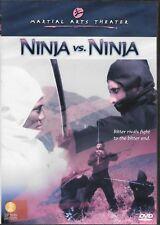 Ninja Vs. Ninja (DVD) Tai Seng Martial Arts Theater HTF OOP NEW & SEALED!