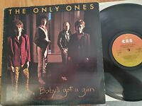 The Only Ones – Baby's Got A Gun CBS 84089 1st Press DEMO Punk LP Record