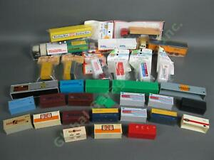 32 HO 20 40 Truck Trailer Freight Train Set Container Lot Walther Wiking Roskopf