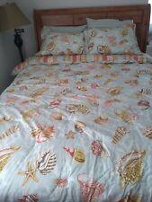 Seashell Comforter set queen w/ 2 shams