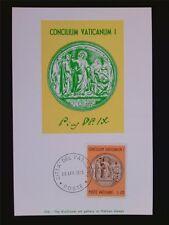 Vatican MK 1970 MEDAGLIA PIO IX maximum carta carte MAXIMUM CARD MC cm c6262