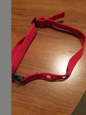 Red Dog Collar - Pet Safe One Size Collar fits most Underground Hidden Fence Sys