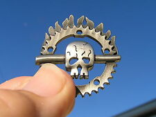 MAD MAX FURY ROAD LAPEL PIN ~ UK Hat Vest Badge NEW suit HARLEY-DAVIDSON Skull