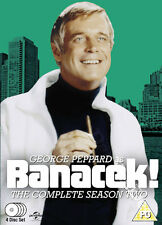 Banacek - Complete Season 2 NEW PAL Classic 4-DVD Set George Peppard C. Belford