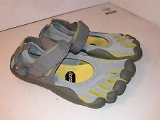 VIBRAM FIVE FINGERS W119 Sprint Slate Palm Lichen Running Shoes Sz 38