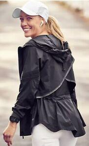 Athleta Womens Open Road Jacket Black EUC Size Small