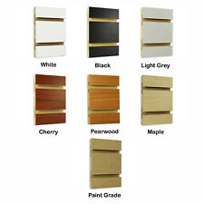 4 ft x 8 ft Slatwall Panel - Made in Usa Multiple Colors Available - Ny Pickup