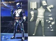 "8""Star Wars JANGOFETT Sci-Fi Movie Resin Model Kit 1/10"