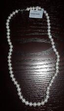 EUNHYE JEWELRY A-A-7 REAL FRESHWATER PEARL STRUNG NECKLACE 17""