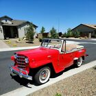 1950 Jeep Jeepster  A Super Driving thumbs up driving car. A head turner with many compliments.