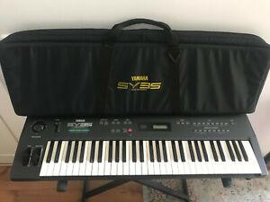 Yamaha SY35 Synthesizer Keyboard mit Tasche