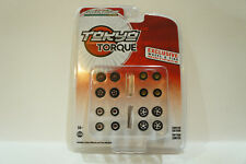 GREENLIGHT EXCLUSIVE WHEEL & TIRE MULTIPACK 1/64 Free Shipping