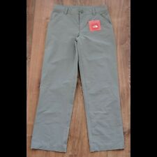 North Face Parker Convertible Pants Girls Medium Size 10/12 New Monument Gray