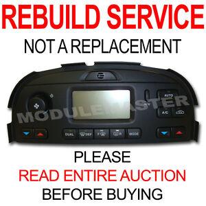 Rebuild Repair of 02 03 04 05 06 07 08 Jaguar SType XType Climate Control No Nav
